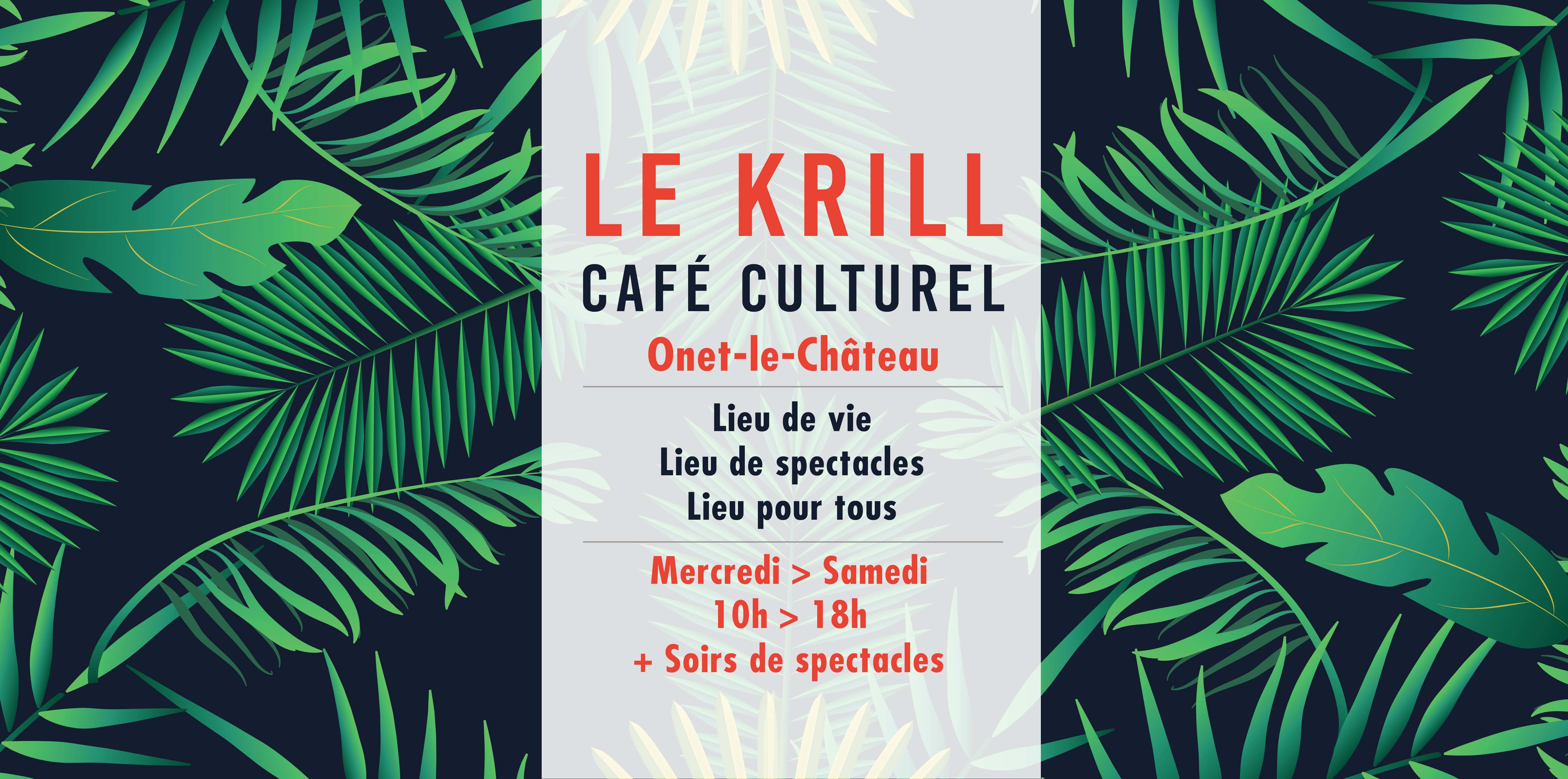 Le Krill Café culturel